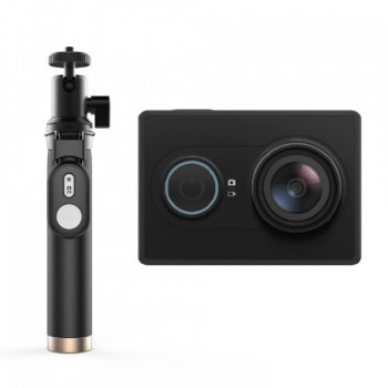Экшн-камера Xiaomi Yi Action Camera Bluetooth Selfie Stick Kit (черный/black)