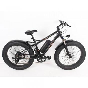 Электровелосипед фэтбайк E-motions Challenger Fat Premium Черный