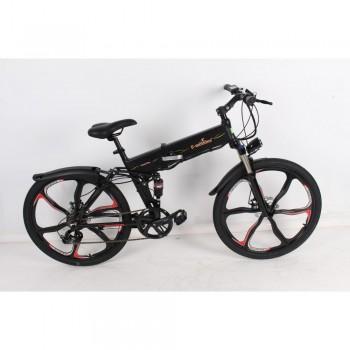Электровелосипеда E-motions Country King Premium Черный