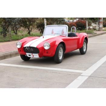 Электромобиль GreenCamel Cobra (60V 1500W R8 Дифференциал, 2 gear) Красно-белый