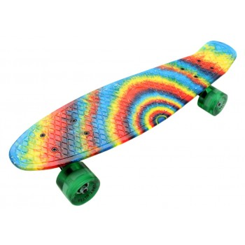 Пенни Борд с радужным рисунком Zippy skateboards Ultra Led