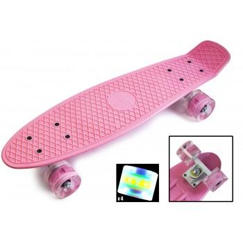 "Пенни борд Zippy Board penny 22"" Нежно-розовый"